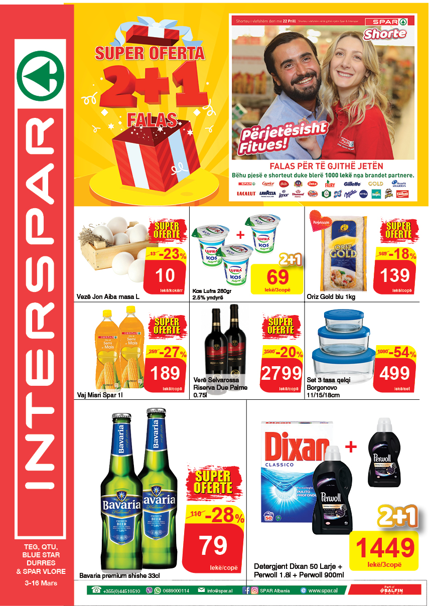 3-16 Mars 2020 interspar